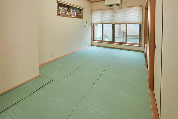 畳の虫や床下の湿気を防ぐシート