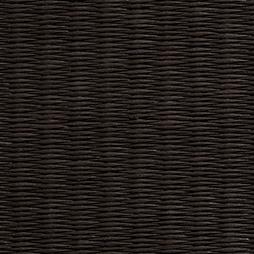 黒染色の和紙を使用した縁なし畳の見本