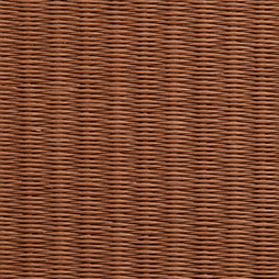 栗色の和紙を使用した縁なし畳の見本