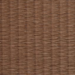 亜麻色の和紙を使用した縁無し畳の見本