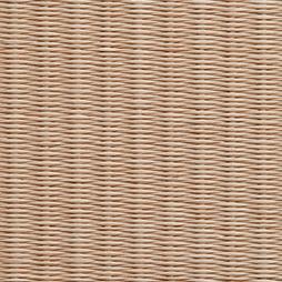 白茶色の和紙を使用した縁なし畳の見本
