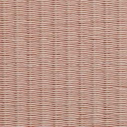 薄桜色の和紙を使用した縁無し畳の見本