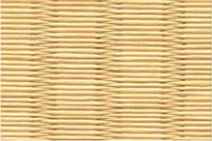 和紙を使用した黄金色の畳