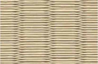 和紙を使用した若草色の畳