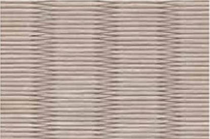 和紙を使用した灰桜色の畳