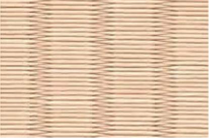 和紙を使用した白茶色の畳