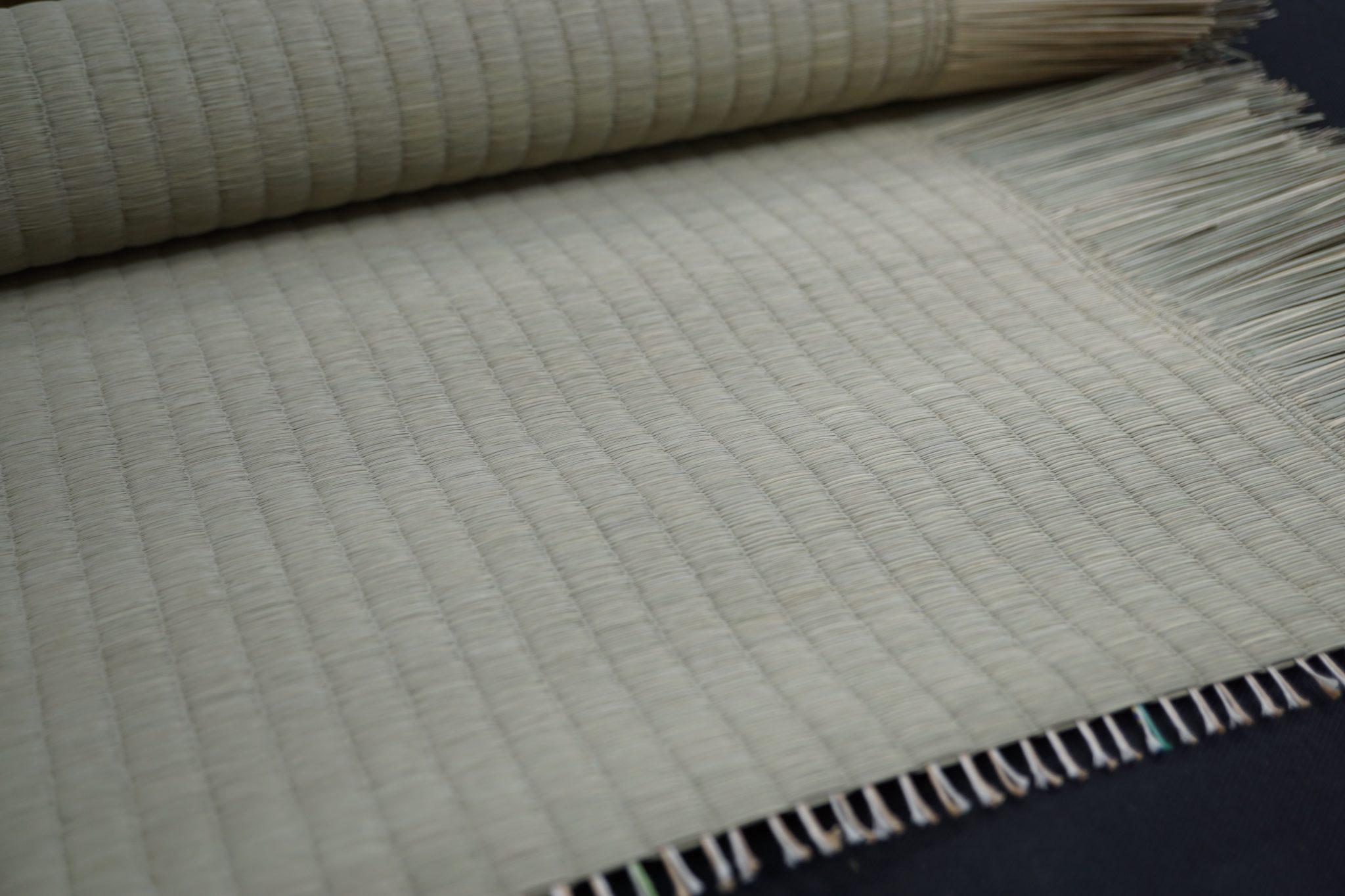 い草を使用した上級品の国産畳表
