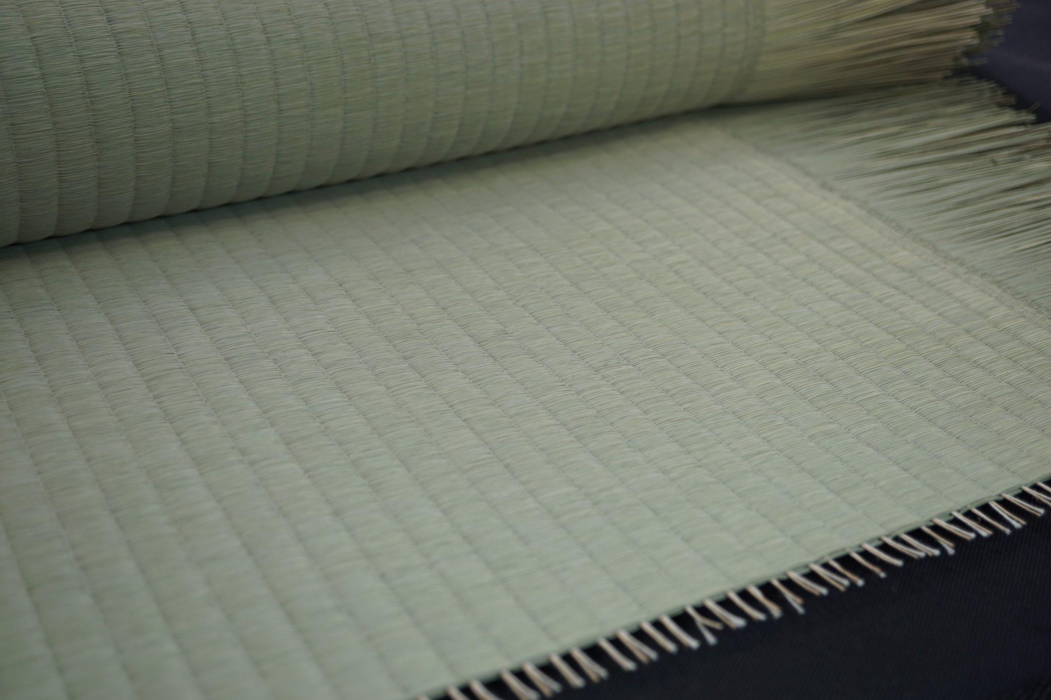い草を使用した高級品の国産畳表