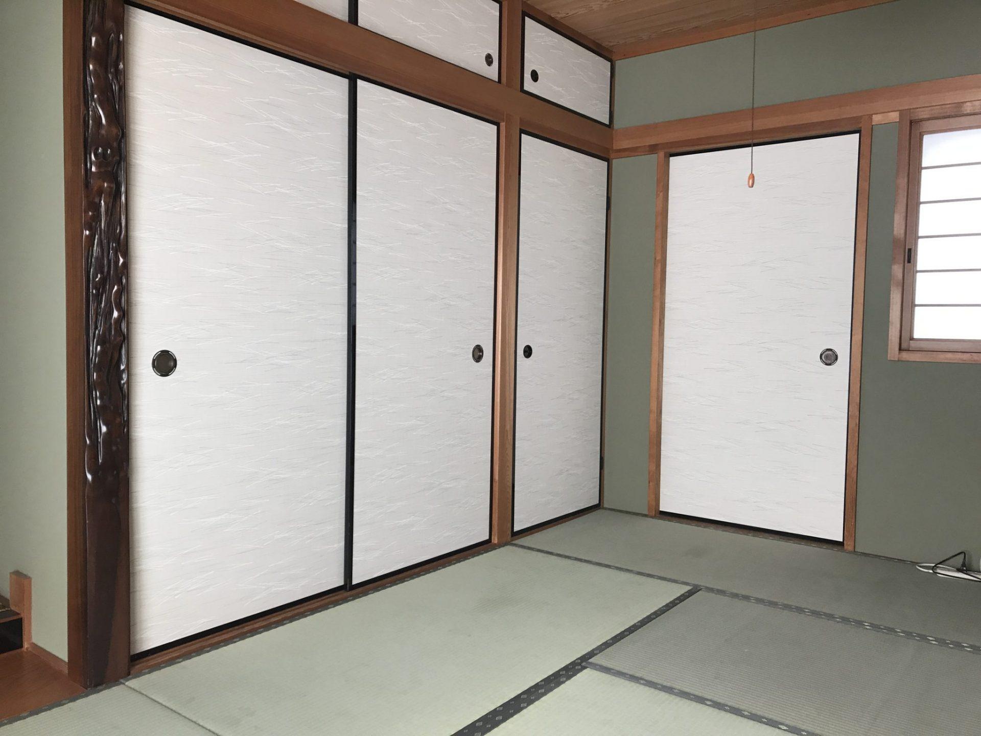 畳と襖の張替え