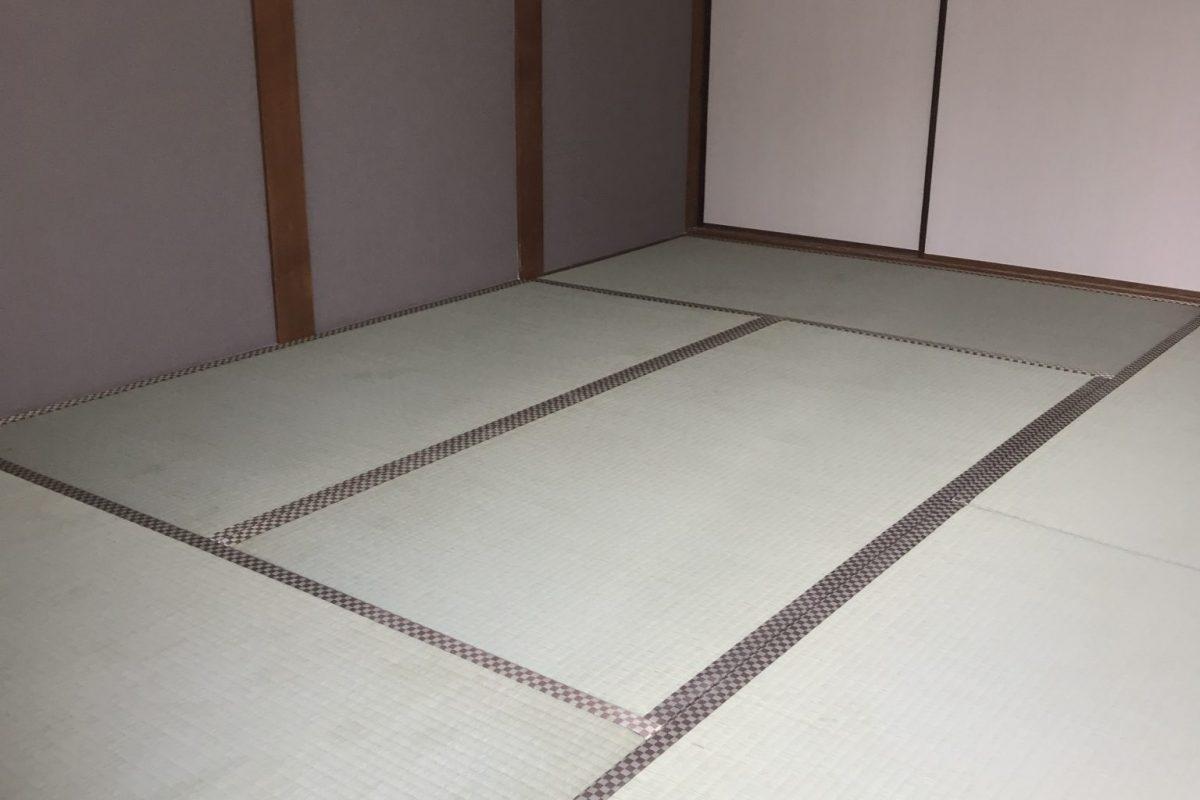 施工後の畳(普及品)