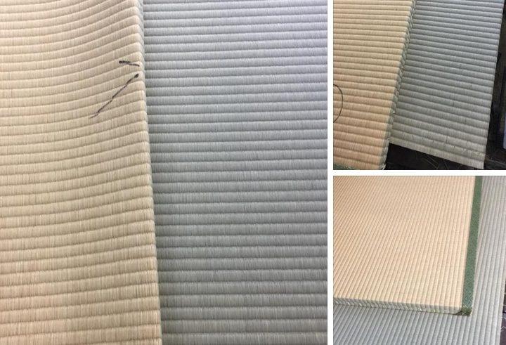 畳の裏返しの比較