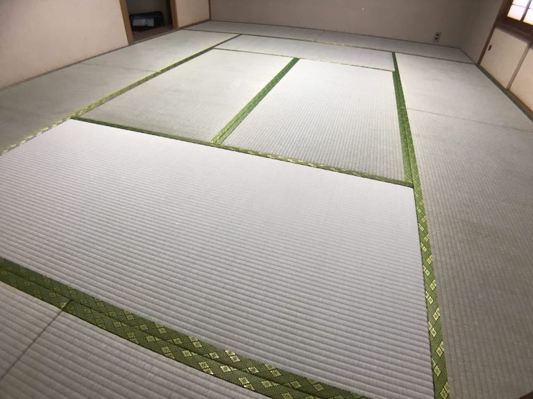 国産いぐさの新品の畳