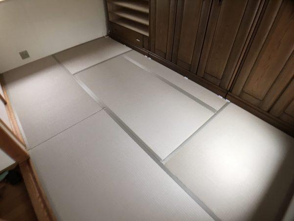 張り替え後の綺麗な畳