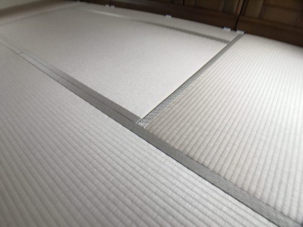 張替え後の和紙畳