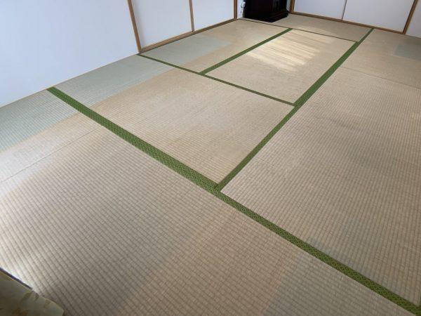 張り替える前の畳