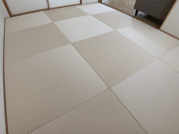 カクテルフィットの和紙畳