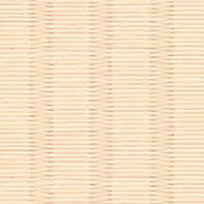 和紙を使用した乳白色の畳