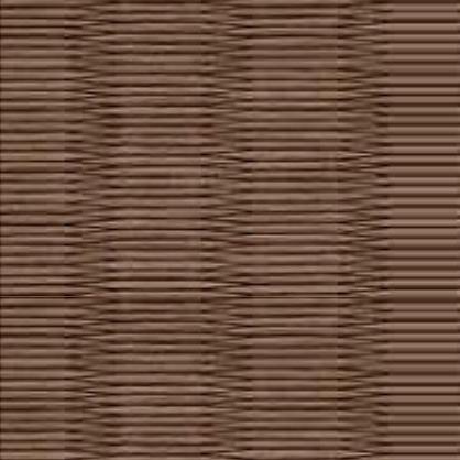 和紙を使用した胡桃色の畳