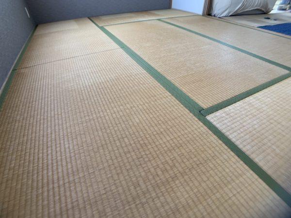 張替え前のい草の畳