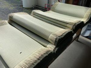 涼風の畳表