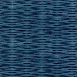 藍色の和紙を使用した縁なし畳の見本