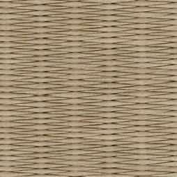 小麦色の和紙を使用した縁なし畳の見本