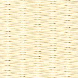 乳白色の和紙を使用した縁なし畳の見本