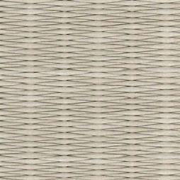灰桜色の和紙を使用した縁なし畳の見本