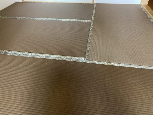 張替後の和紙畳