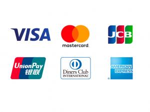 畳の支払いにクレジットカードが使えます。